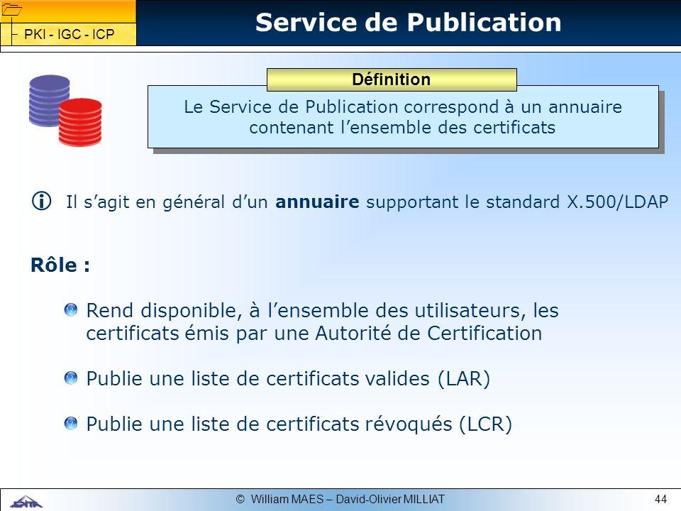 Service de Publication