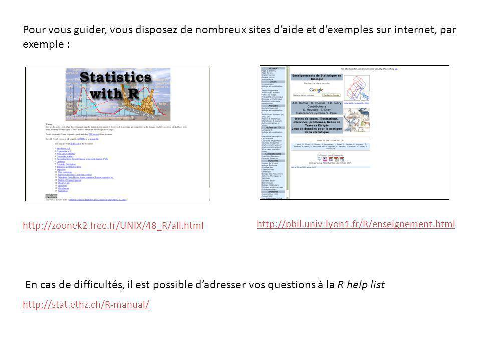 Pour vous guider, vous disposez de nombreux sites d'aide et d'exemples sur internet, par exemple :
