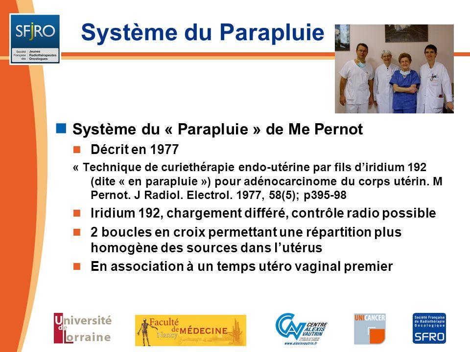 Système du Parapluie Système du « Parapluie » de Me Pernot