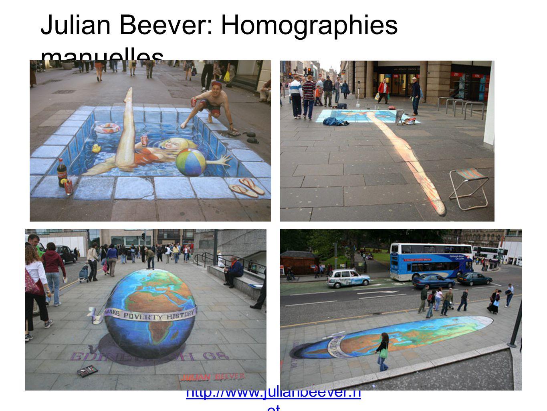 Julian Beever: Homographies manuelles
