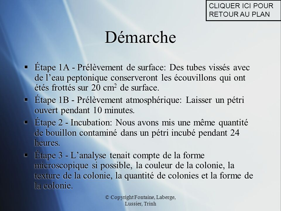 © Copyright Fontaine, Laberge, Lussier, Trinh