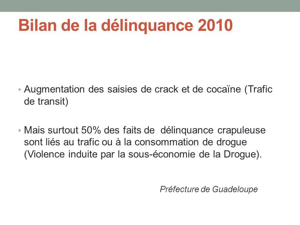 Bilan de la délinquance 2010