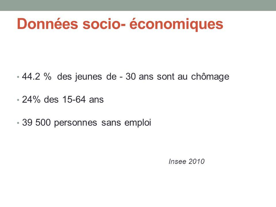 Données socio- économiques