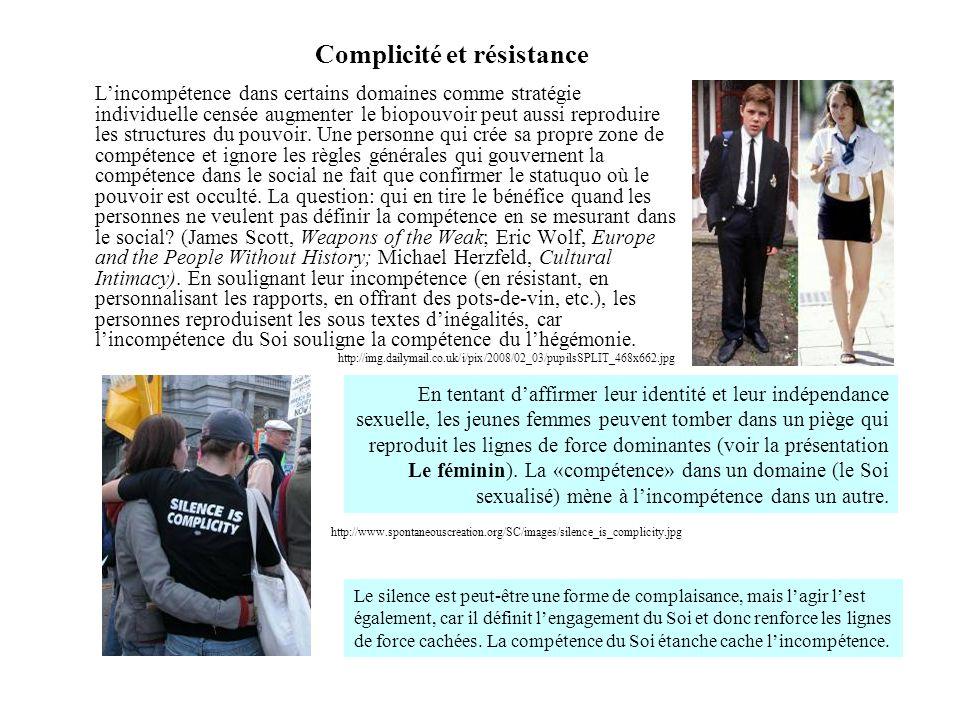 Complicité et résistance