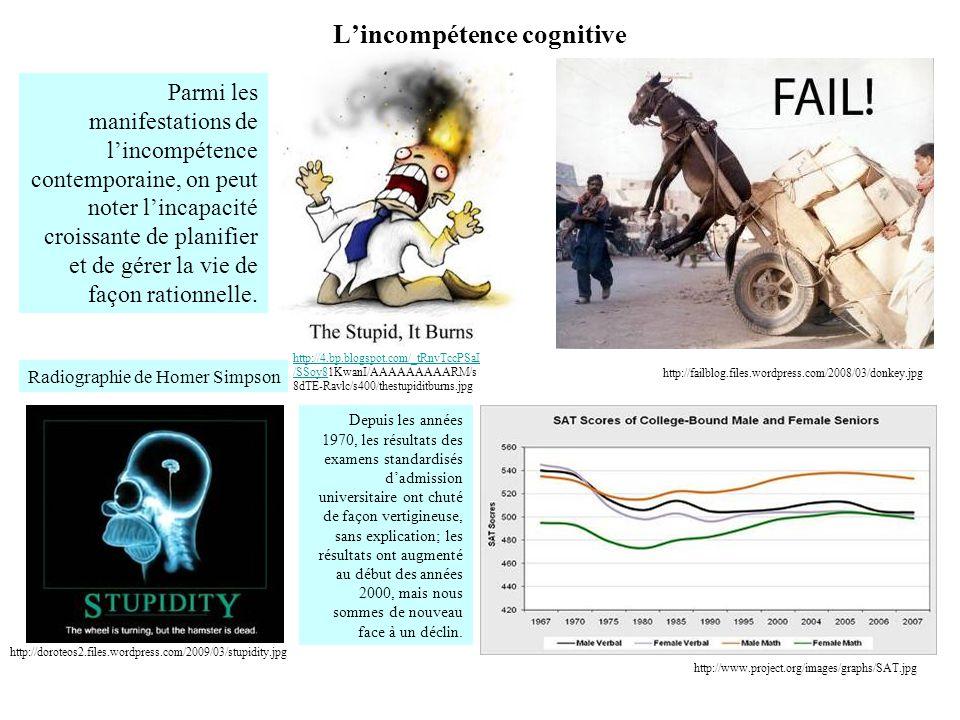 L'incompétence cognitive
