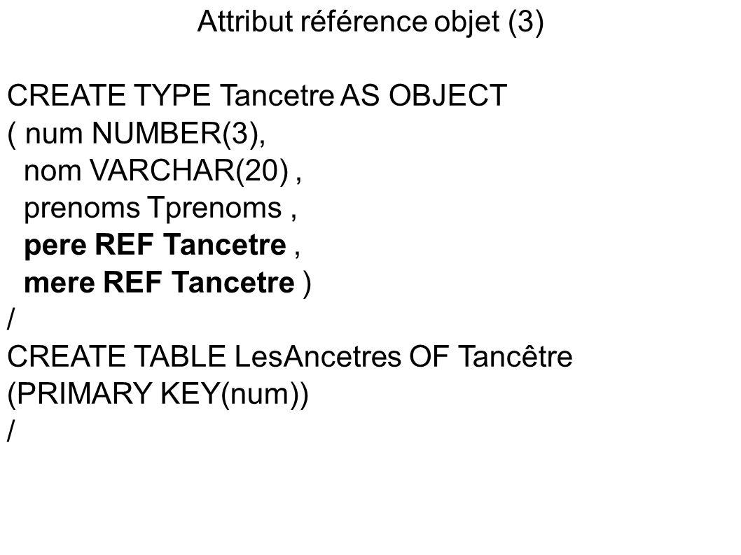 Attribut référence objet (3)