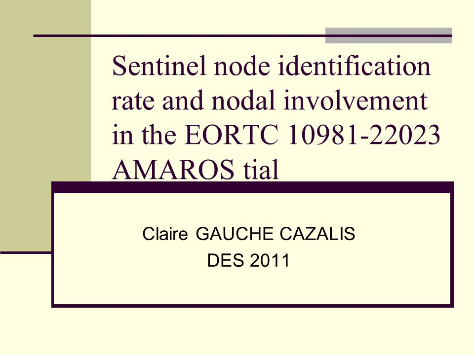 Claire GAUCHE CAZALIS DES 2011