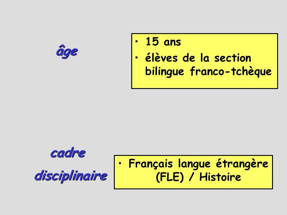 Français langue étrangère (FLE) / Histoire