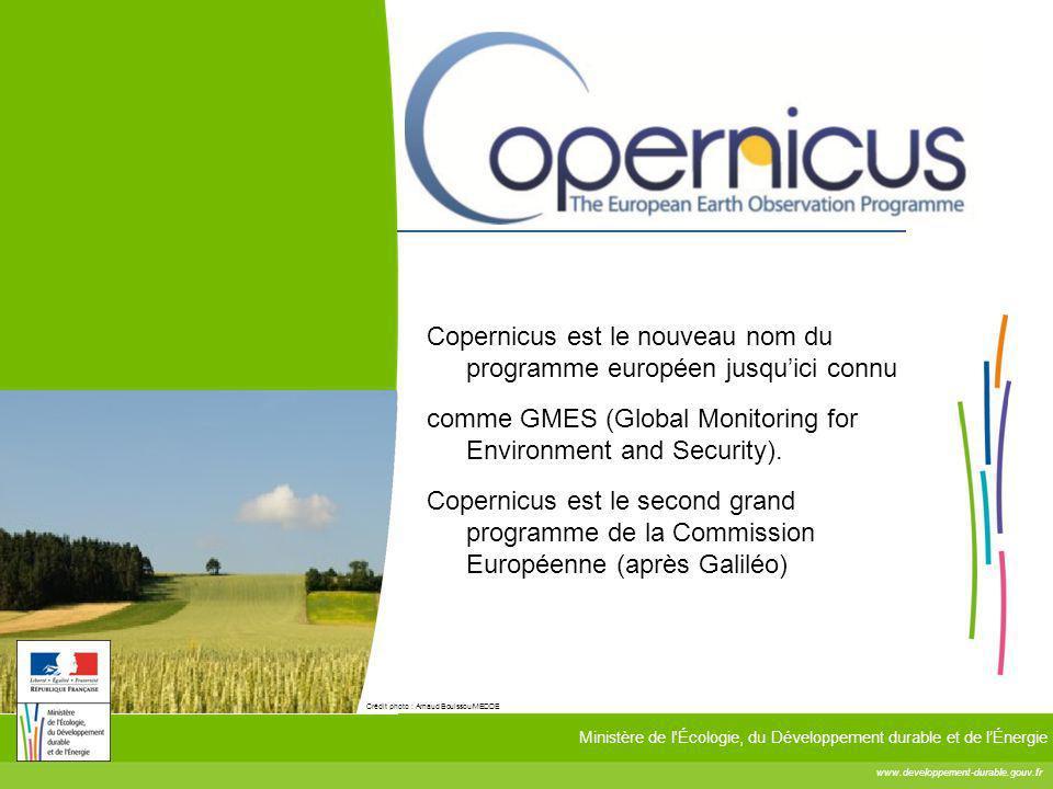 Copernicus est le nouveau nom du programme européen jusqu'ici connu