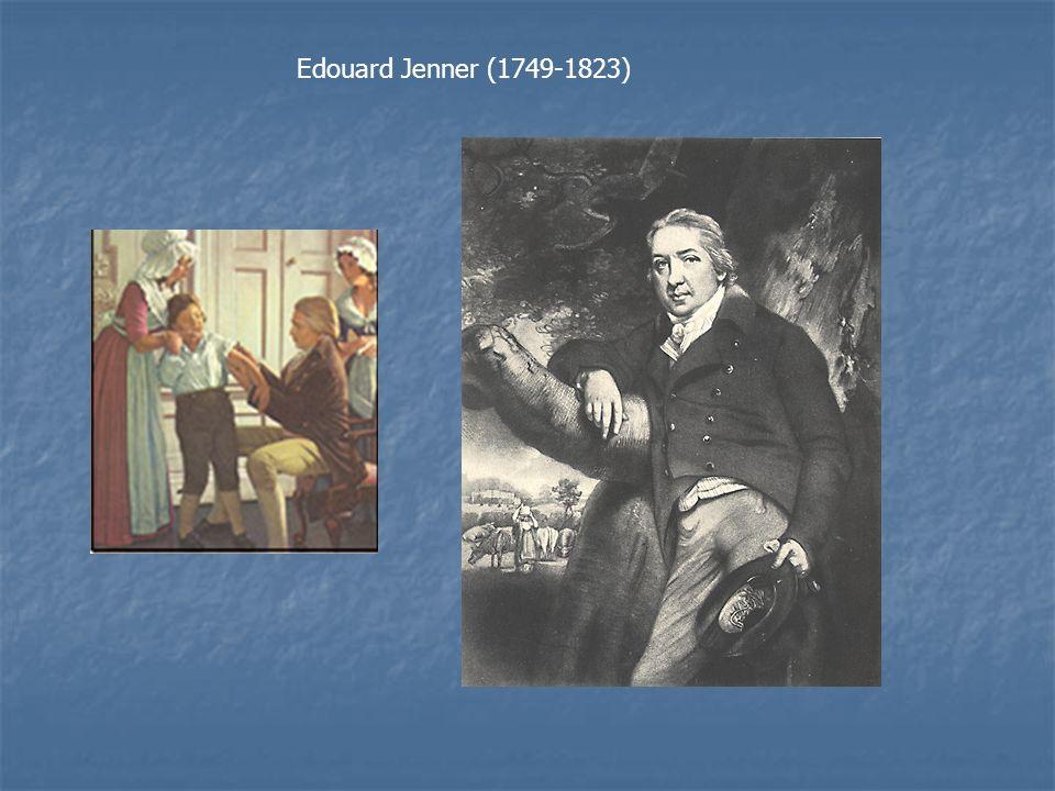 Edouard Jenner (1749-1823)