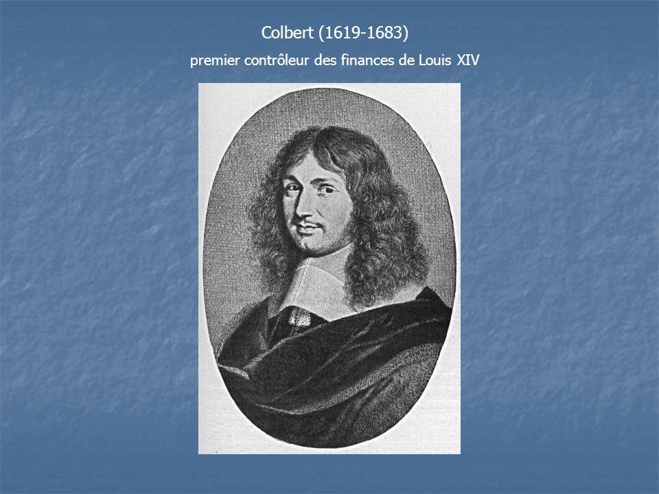 premier contrôleur des finances de Louis XIV