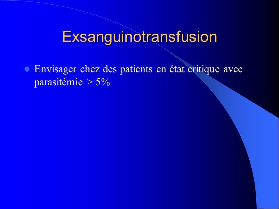 Exsanguinotransfusion