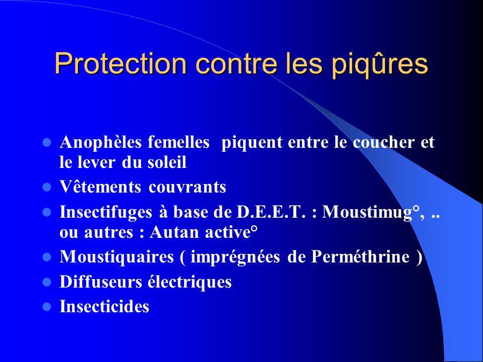 Protection contre les piqûres