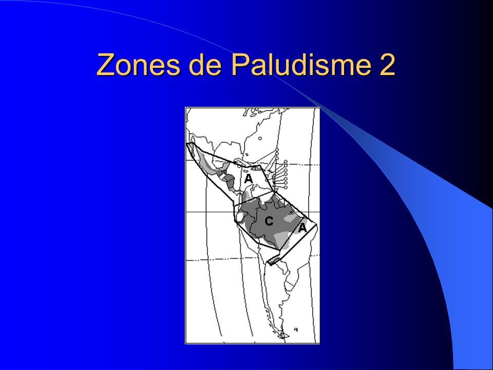 Zones de Paludisme 2