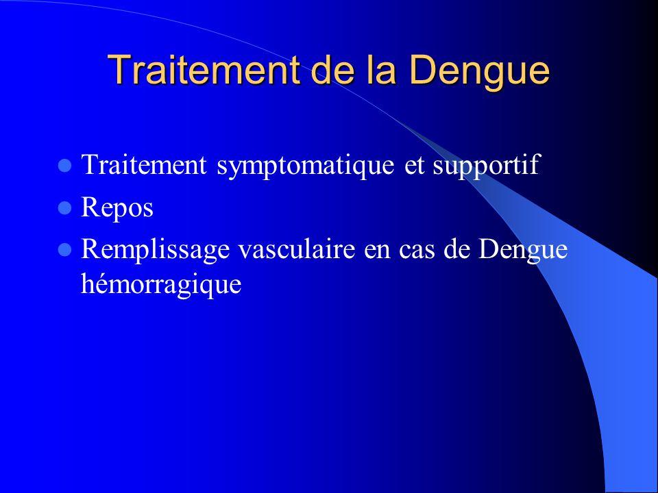 Traitement de la Dengue