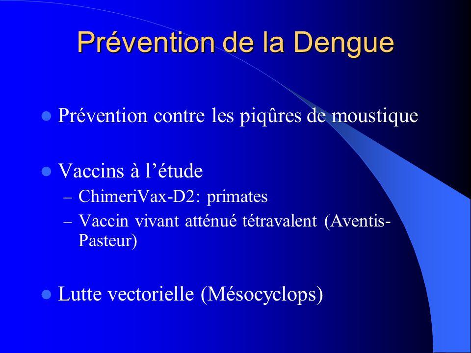 Prévention de la Dengue