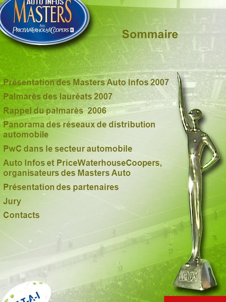 Sommaire Présentation des Masters Auto Infos 2007
