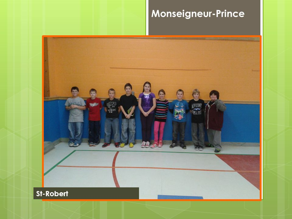 Monseigneur-Prince St-Robert