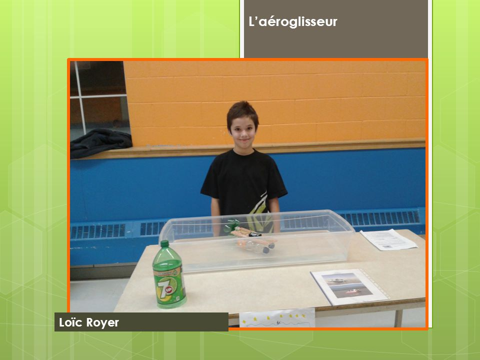 L'aéroglisseur Loïc Royer