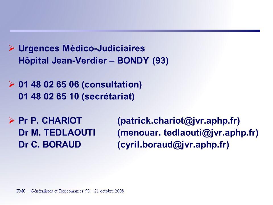 Urgences Médico-Judiciaires