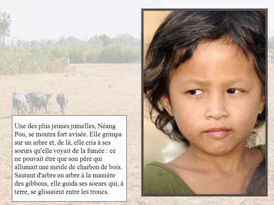 Une des plus jeunes jumelles, Néang Pou, se montra fort avisée