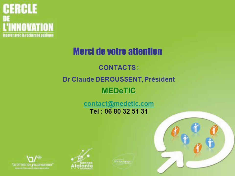 Dr Claude DEROUSSENT, Président