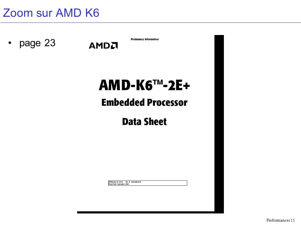 Zoom sur AMD K6 page 23