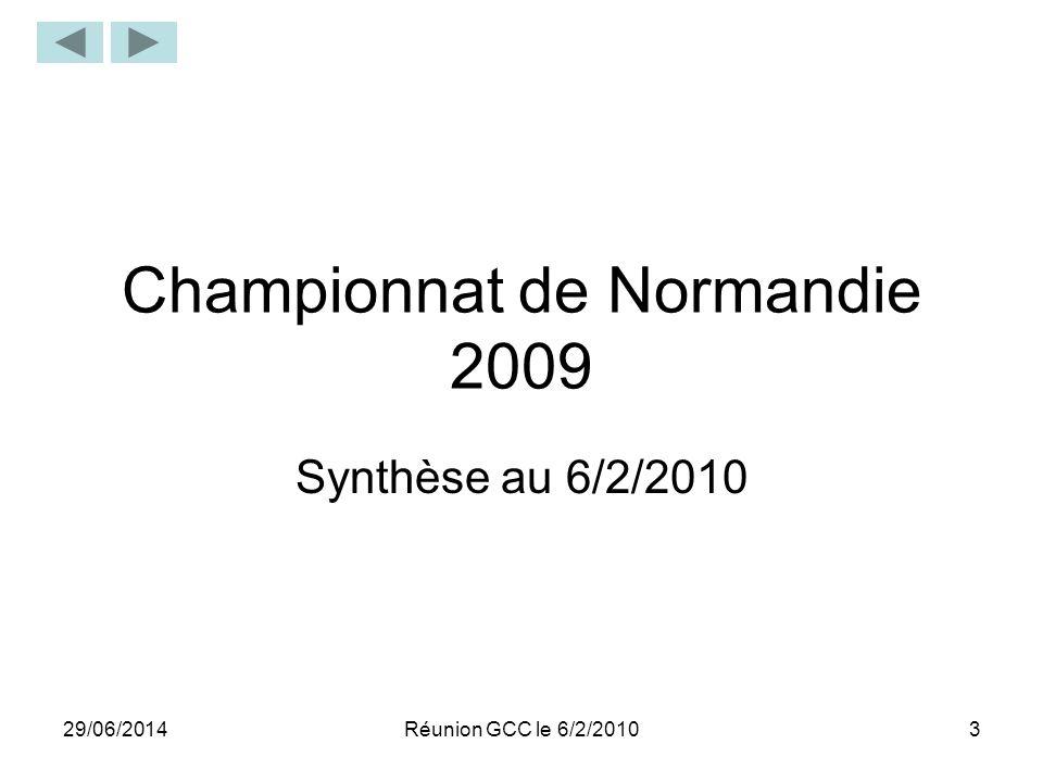 Championnat de Normandie 2009