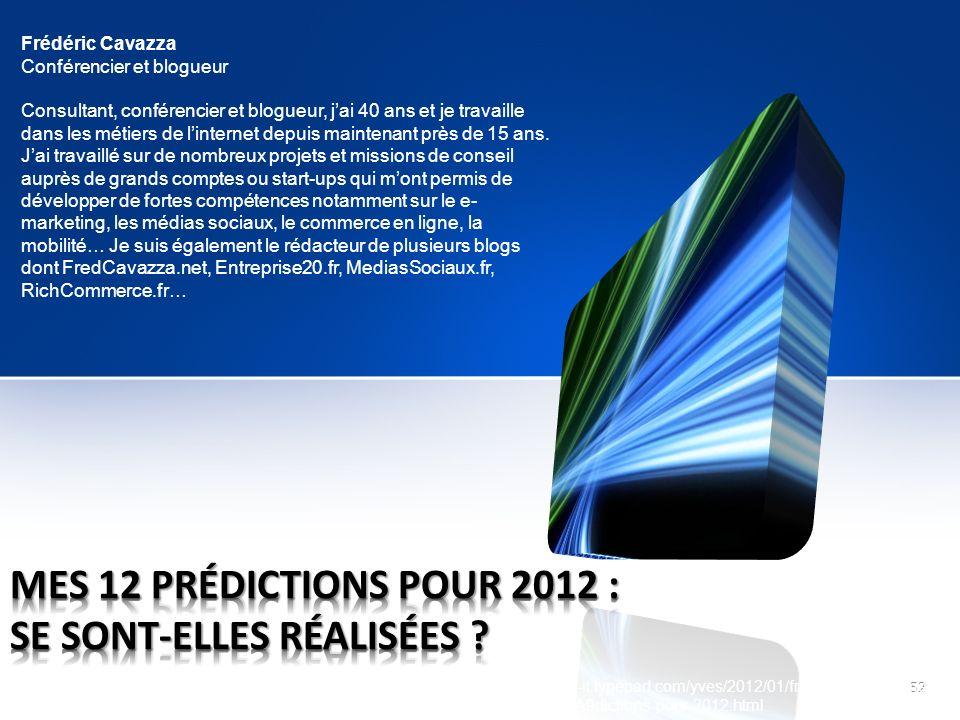 MES 12 prédictions pour 2012 : se sont-elles réalisées