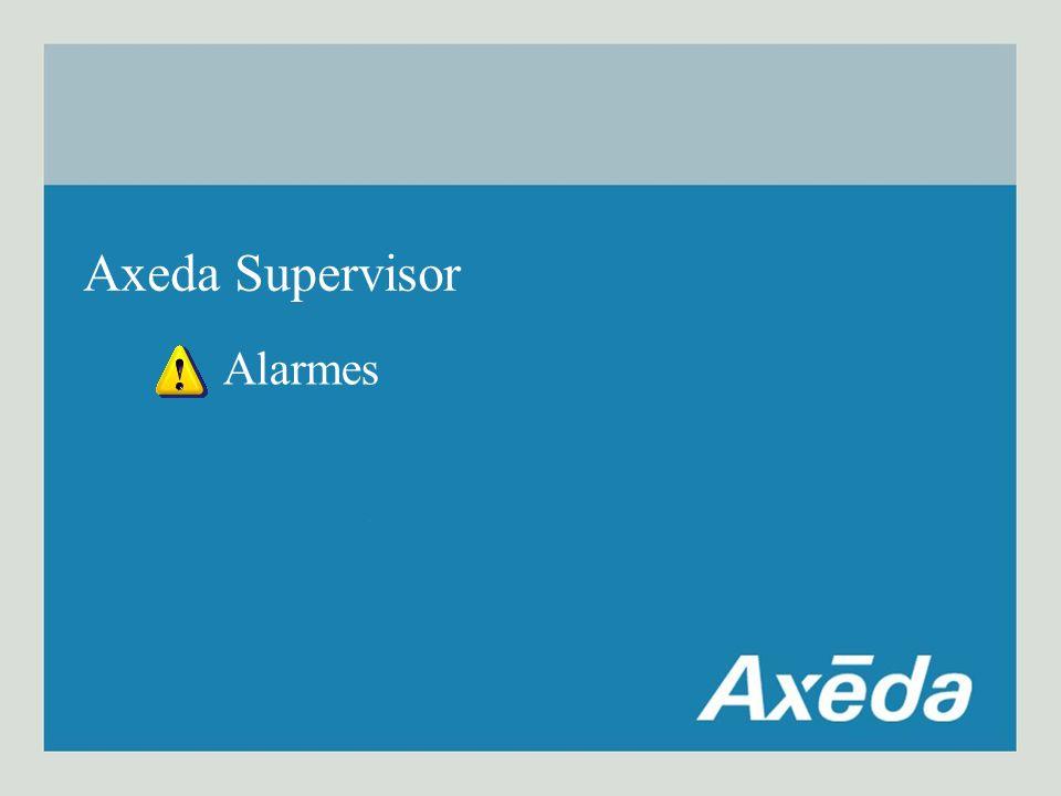Axeda Supervisor Alarmes