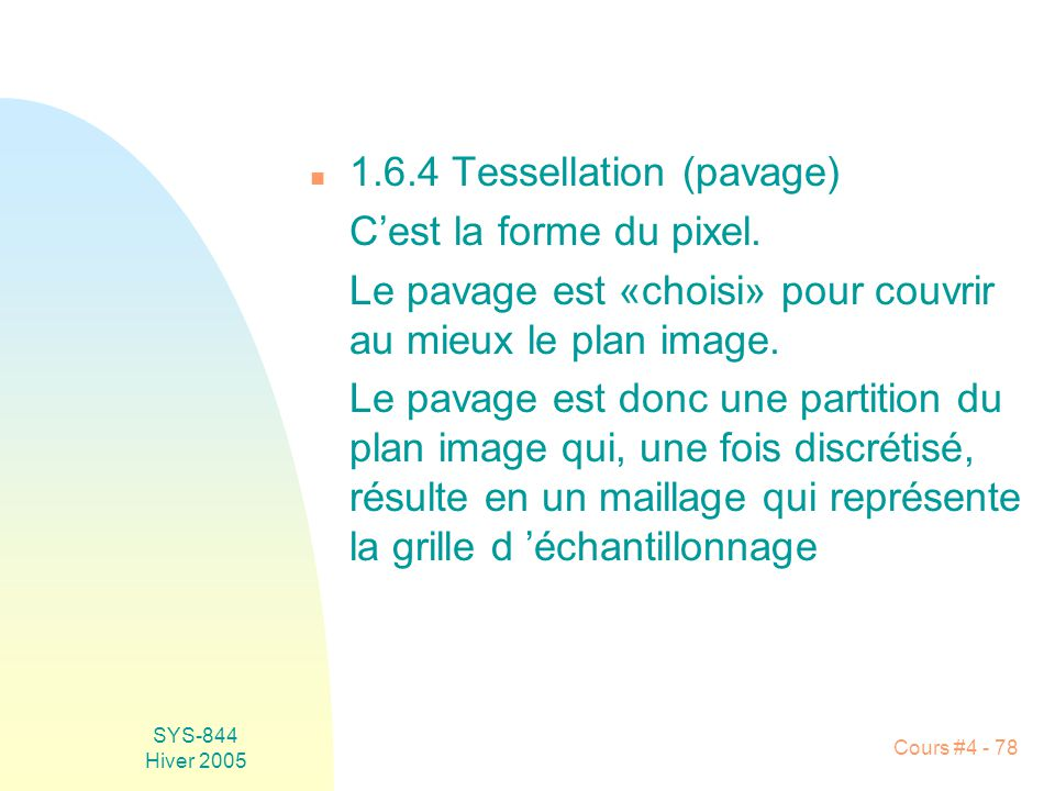 1.6.4 Tessellation (pavage)