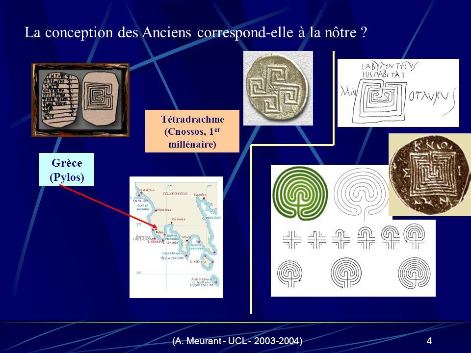 Tétradrachme (Cnossos, 1er millénaire)