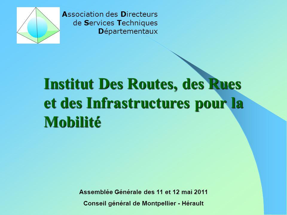 Institut Des Routes, des Rues et des Infrastructures pour la Mobilité