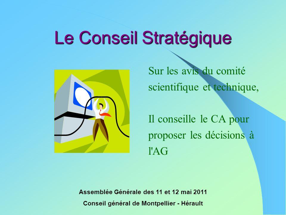 Le Conseil Stratégique