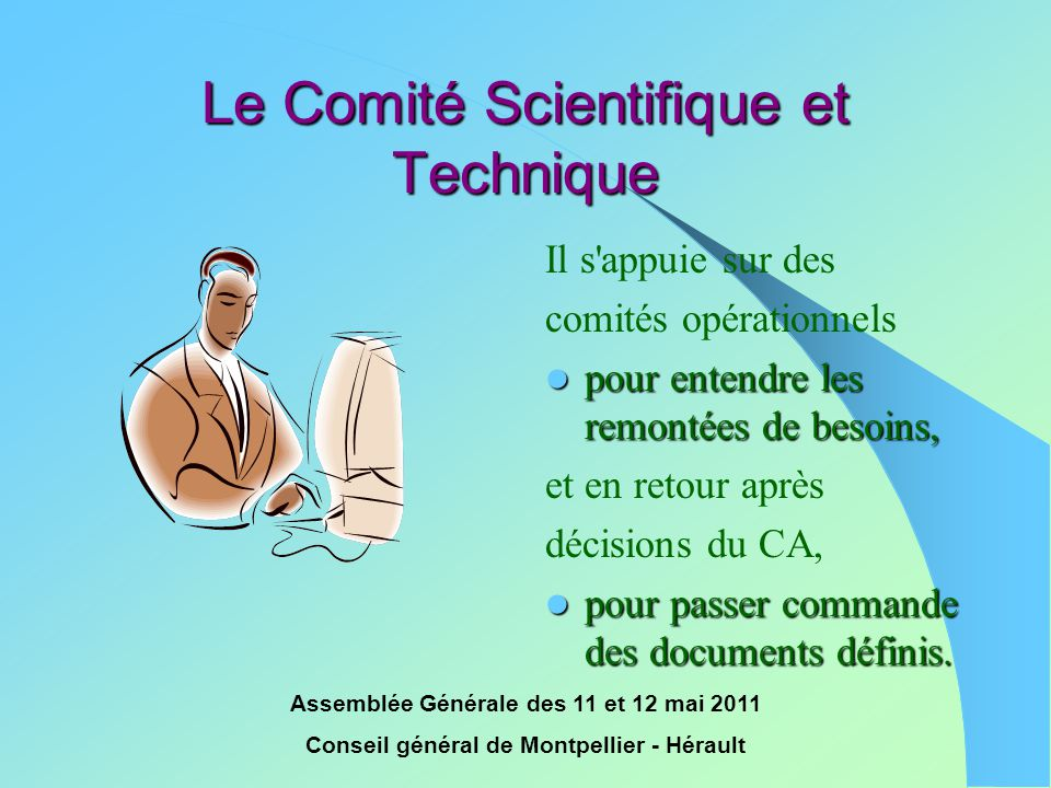 Le Comité Scientifique et Technique
