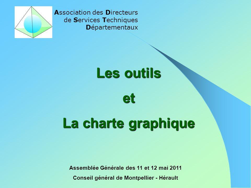 Les outils et La charte graphique