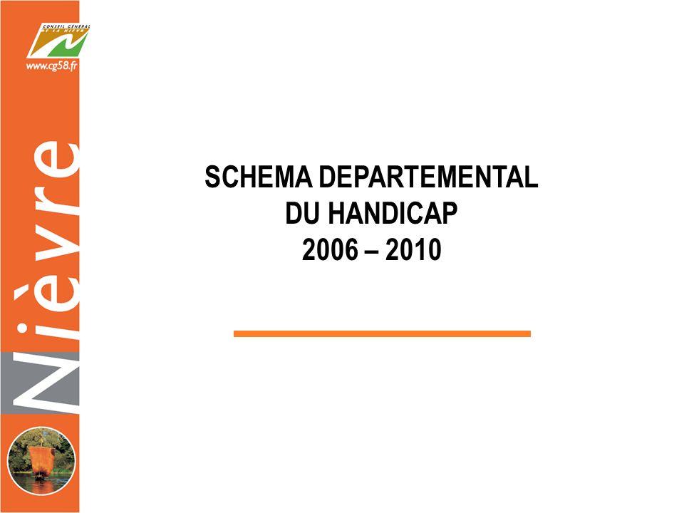 SCHEMA DEPARTEMENTAL DU HANDICAP 2006 – 2010