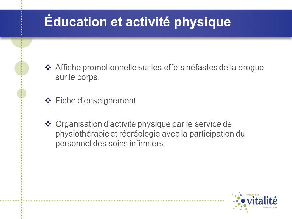 Éducation et activité physique