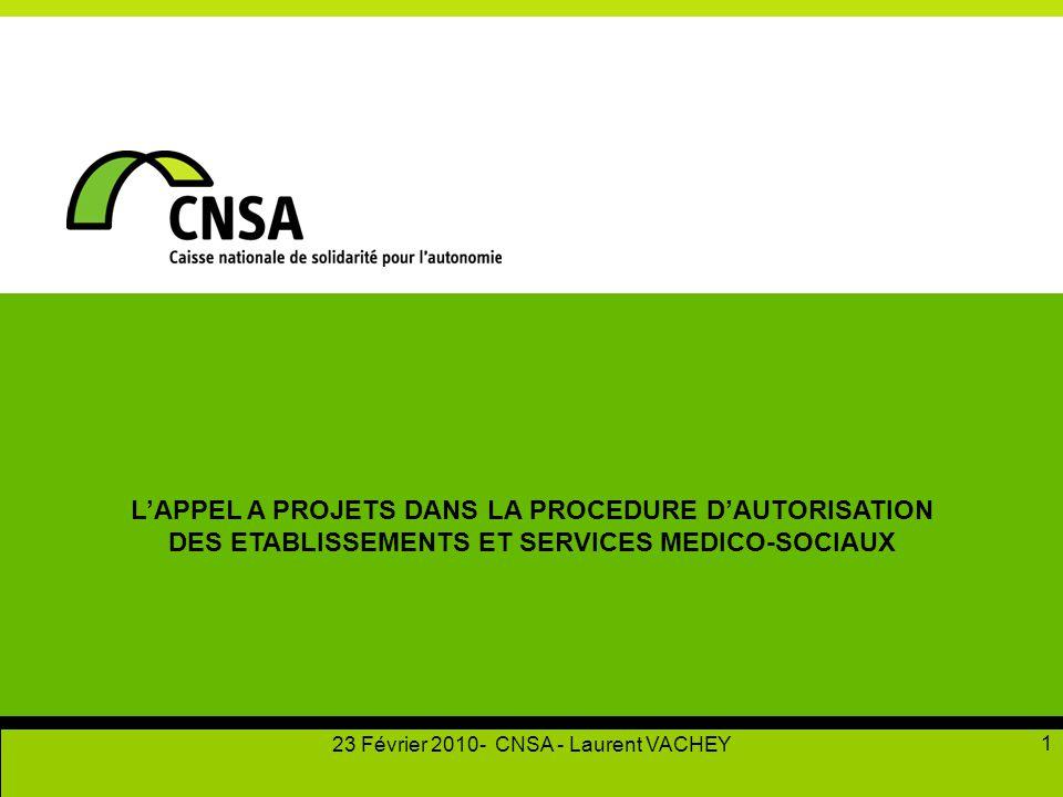 L'APPEL A PROJETS DANS LA PROCEDURE D'AUTORISATION