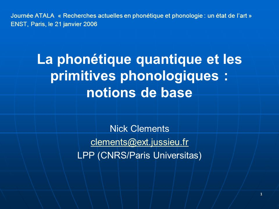 LPP (CNRS/Paris Universitas)