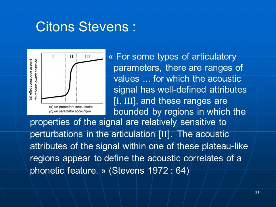 Citons Stevens :