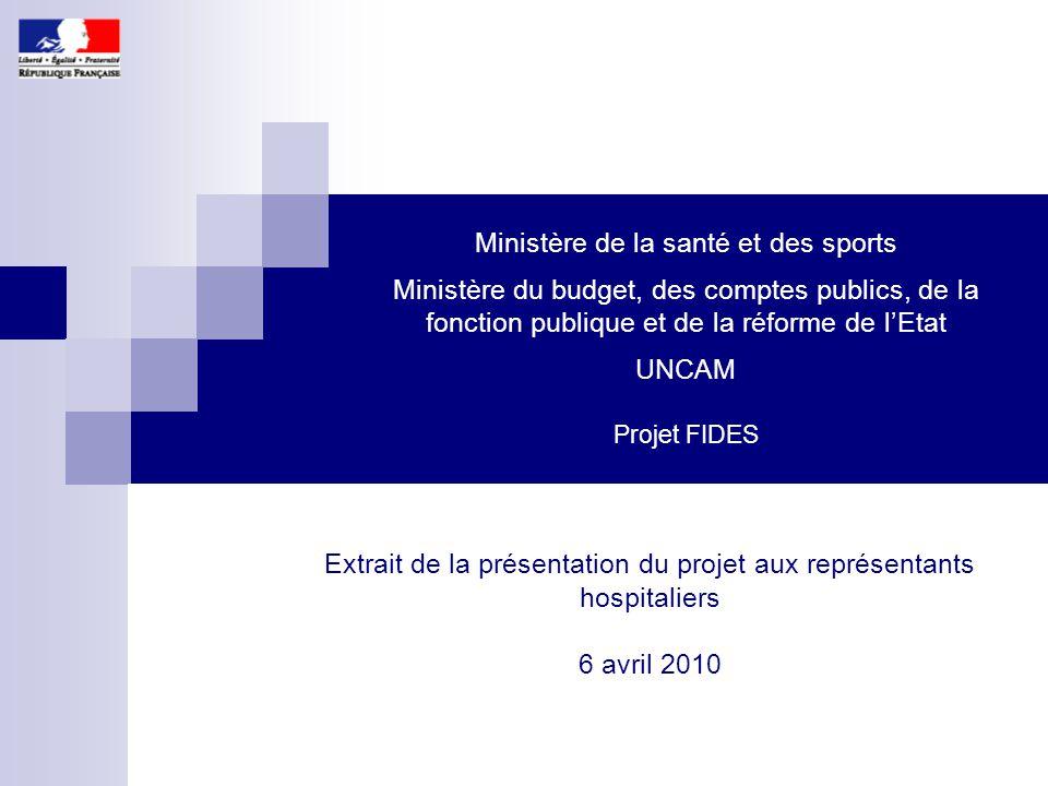 Extrait de la présentation du projet aux représentants hospitaliers