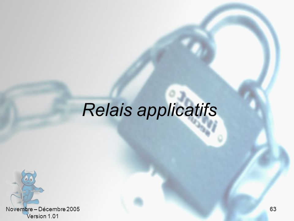 Relais applicatifs