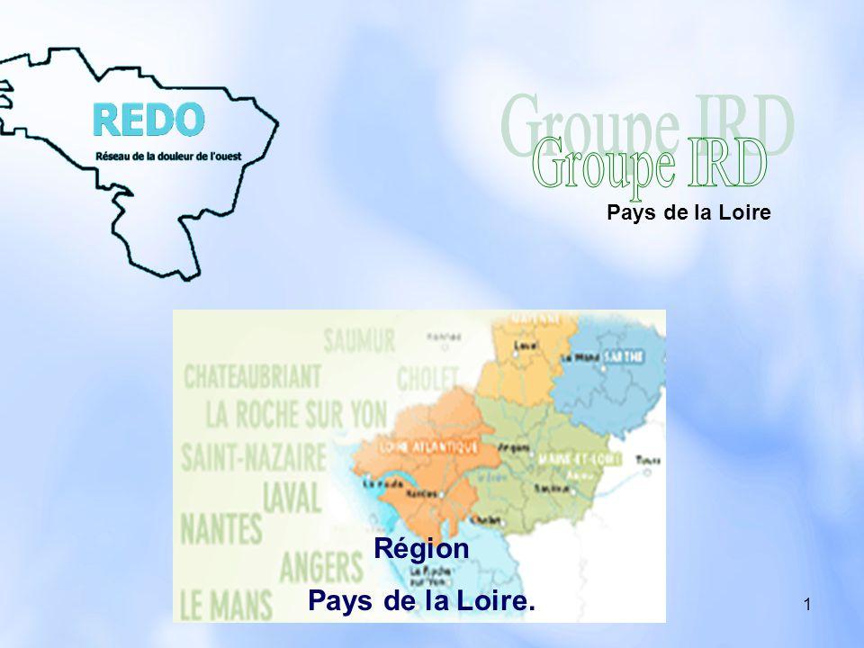 Groupe IRD Pays de la Loire Région Pays de la Loire.