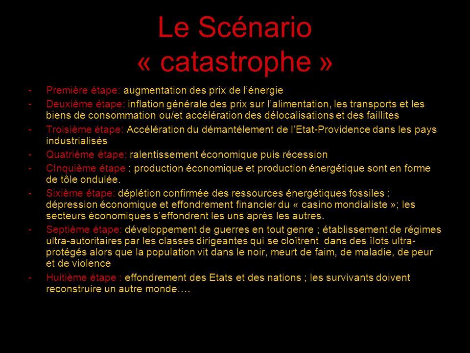 Le Scénario « catastrophe »