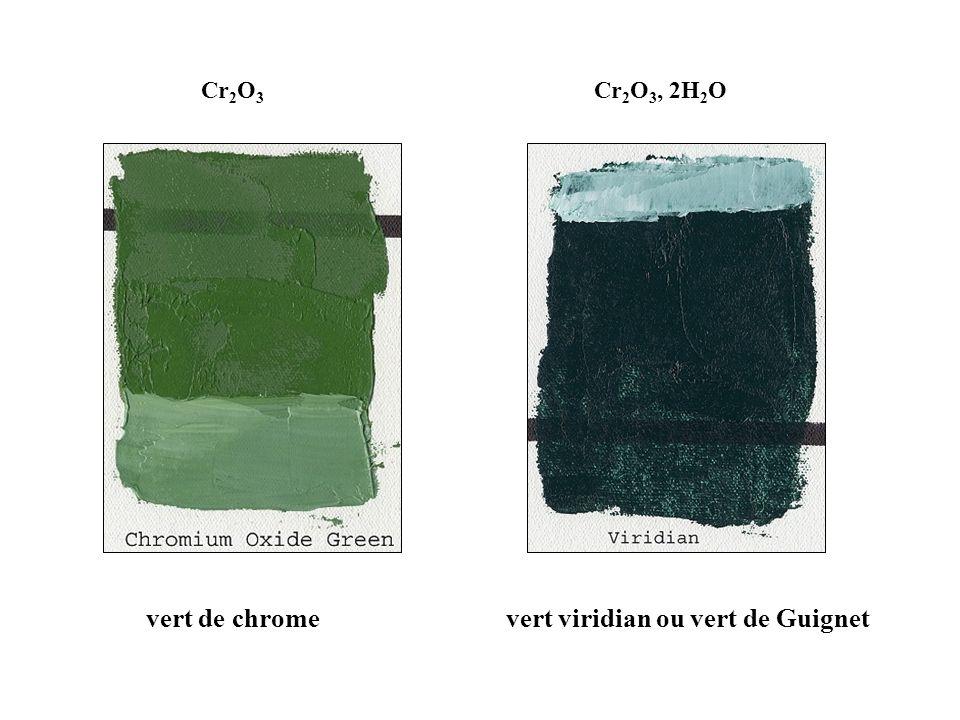 vert viridian ou vert de Guignet