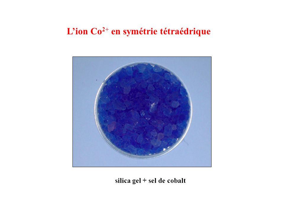 silica gel + sel de cobalt