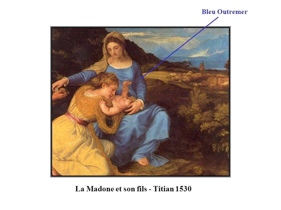 La Madone et son fils - Titian 1530
