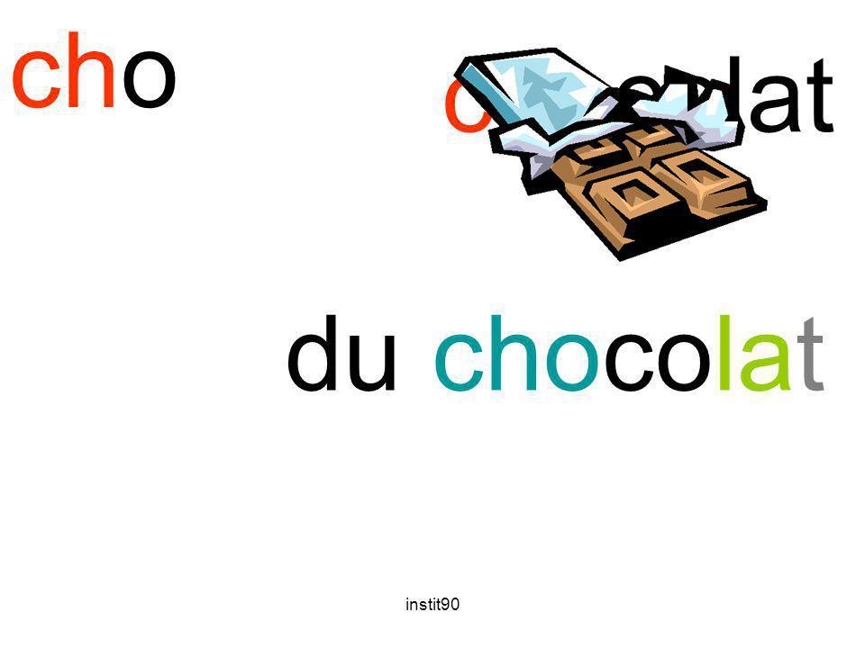 cho chocolat du chocolat instit90
