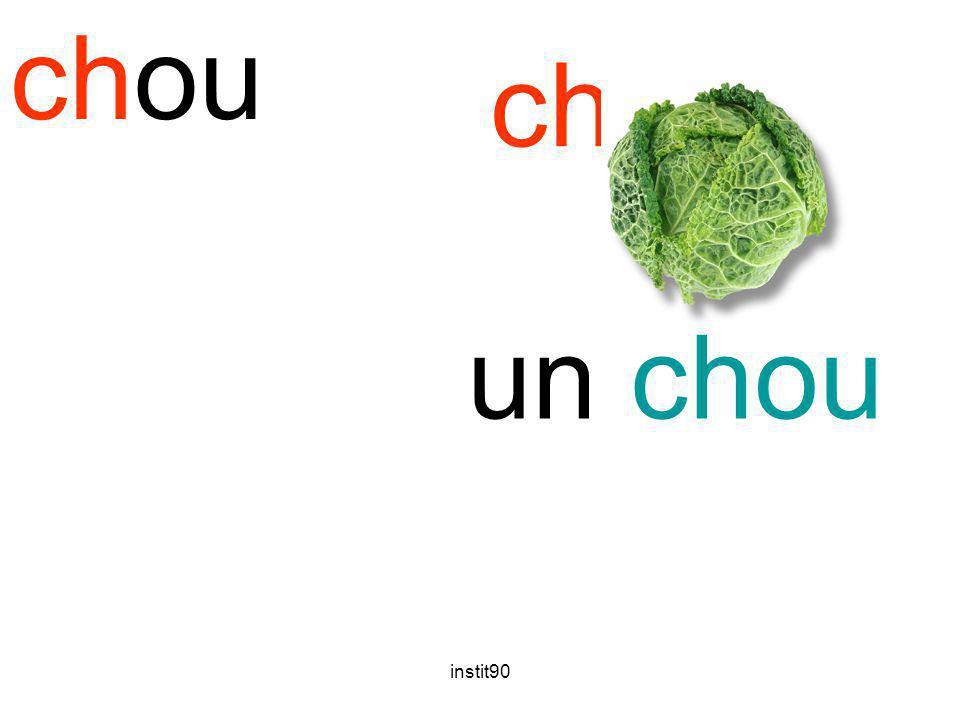 chou chou un chou instit90